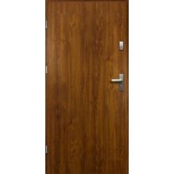 Drzwi Zewnętrzne Stalowe Złoty Dąb Artemida 55 mm z Klamką i Wkładkami