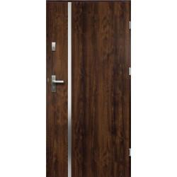 Drzwi Zewnetrzne Hebe Ciemny Orzech 55 mm