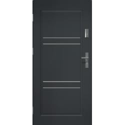 Drzwi zewnetrzne APOLLO V2 - Antracyt. Produkt POLSKI.