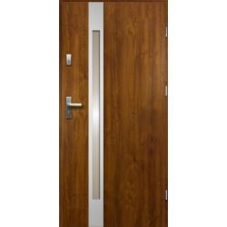 Drzwi Zewnetrzne Temida Slim Zloty Dab 55 mm