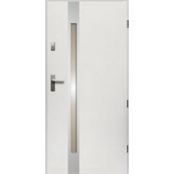Drzwi Zewnetrzne Temida Slim Biale 55 mm
