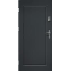 APOLLO V1 Drzwi zewnętrzne pełne - Antracyt. Produkt POLSKI.