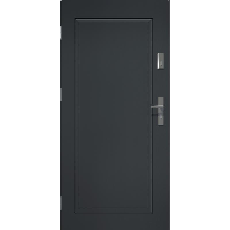 Drzwi zewnetrzne APOLLO V1 - Antracyt. Produkt polski.