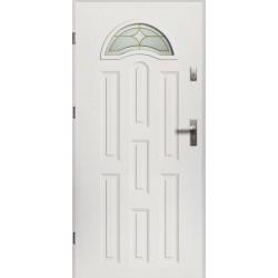 Drzwi Zewnętrzne Sol Białe 55 mm