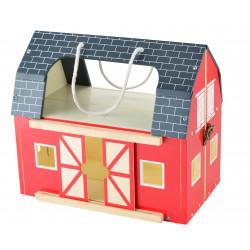 Skladana Drewniana Farma Dla Dzieci Zabawka Figurki