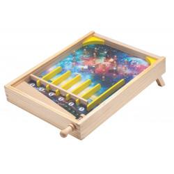 Drewniana Zabawka Gra Dla Dzieci Pinball od 4iQ