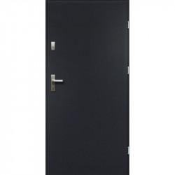 Drzwi Zewnętrzne Alaska Antracyt 68mm
