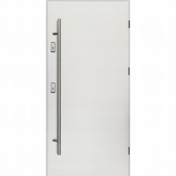 Drzwi Zewnętrzne Alaska Białe Z Antabą 68mm