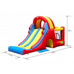 Dmuchany zamek COMBO SLIDE trampolina HappyHop