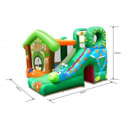 Dmuchany zamek ŻYRAFA trampolina HappyHop dmuchawa