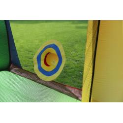 Dmuchany Duży ZAMEK WODNY trampolina HappyHop