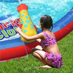 Dmuchany zamek REKIN trampolina HappyHop dmuchawa