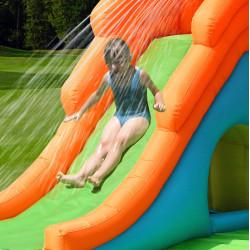 Dmuchany duży zamek KROKODYL trampolina HappyHop