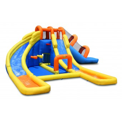 Dmuchany duzy zamek KROKODYL trampolina HappyHop