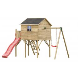 Drewniany domek ogrodowy dla dzieci - Jerzyk MAX