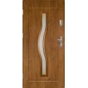 Drzwi zewnętrzne przeszklone CERES - Winchester. Szklenie Stopsol.Ramka PVC. Produkt polski.
