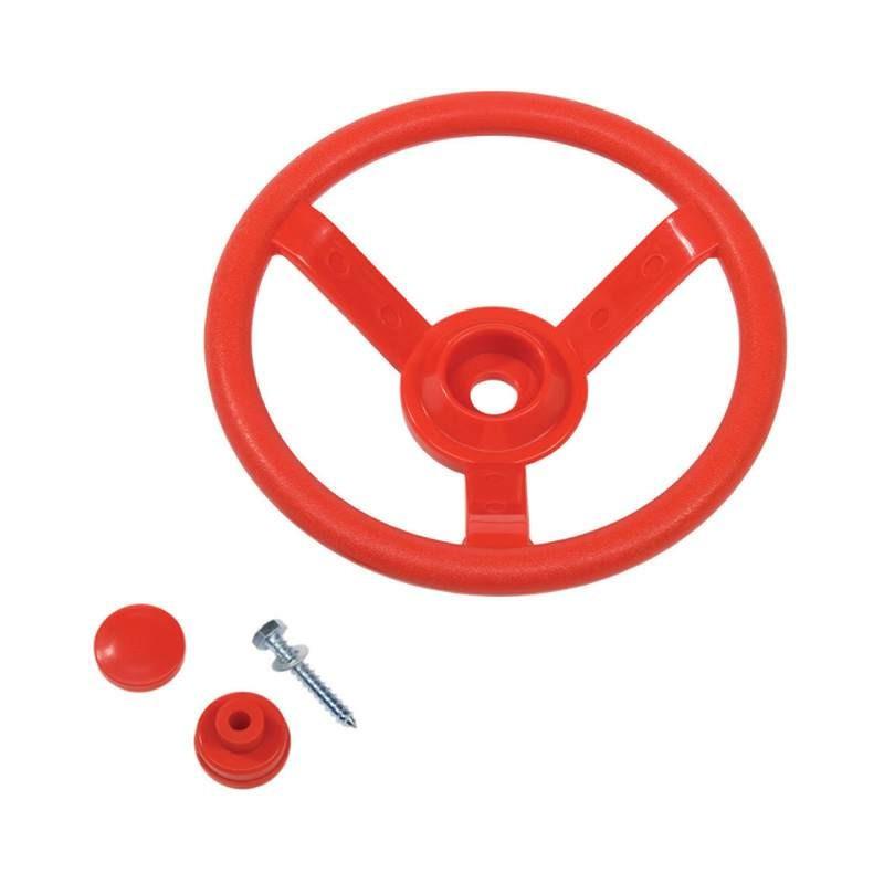 Kierownica na plac zabaw - czerwona