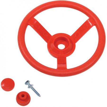 Kierownica na plac zabaw - Czerwona - Zabawka edukacyjna