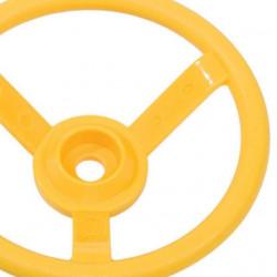 Kierownica na plac zabaw - żółta