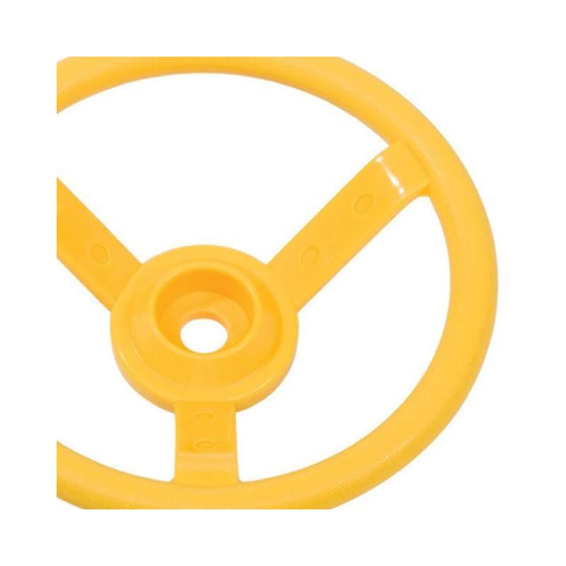 Kierownica na plac zabaw - Żółta - Zabawka edukacyjna