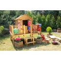 Drewniany domek ogrodowy dla dzieci - Maciej - bez ślizgu