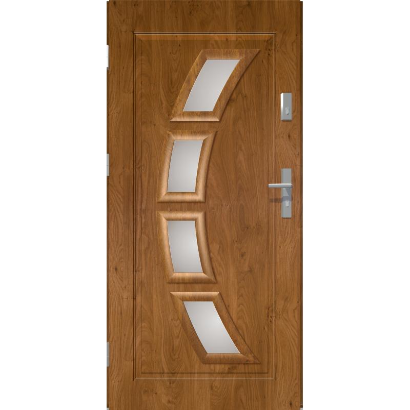 HERMES - Drzwi zewnętrzne przeszklone - Winchester. Produkt POLSKI.