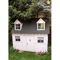 Drewniany domek ogrodowy dla dzieci - Maria - Aranżacje naszych Klientów