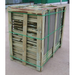 Drewniany domek ogrodowy dla dzieci - Maria - Domek przygotowany do wysyłki