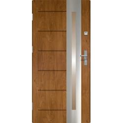 Drzwi zewnętrzne RONIN- Winchester INOX. Produkt POLSKI.