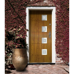 Drzwi zewnętrzne KARAT - Produkt polski- aranżacja