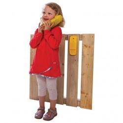 Telefon na place zabaw i do domków drewnianych