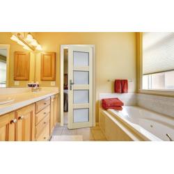 Drzwi sosnowe, bezsęczne - Nefryt 1S - Seria Premium - Drzwi wewnętrzne drewniane