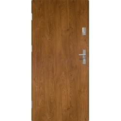 Drzwi zewnętrzne KYPROS - Winchester. Pełne. Produkt polski.