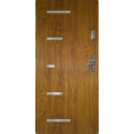 Drzwi zewnętrzne pełne SPARTA - Złoty Dąb. Produkt POLSKI.