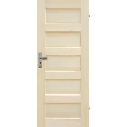 """Drzwi sosnowe, bezsęczne - """"Istria"""" pełne - Seria Fog - Drzwi wewnętrzne drewniane """"RADEX"""""""