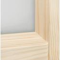 """Łączenie elementów w skrzydle """"Manhattan"""" - Seria Fog - Drzwi wewnętrzne drewniane """"RADEX"""""""