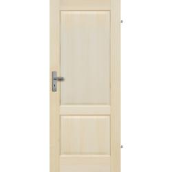 """Drzwi sosnowe, bezseczne - """"Turyn"""" pelne - Seria Fog - Drzwi wewnetrzne drewniane """"RADEX"""""""