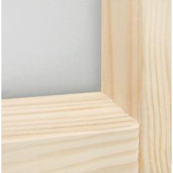 """Łączenie elementów w skrzydle """"Turyn"""" - Seria Fog - Drzwi wewnętrzne drewniane """"RADEX"""""""