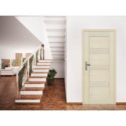 Drzwi sosnowe, bezsęczne - Nefryt pełne - Seria Premium - Drzwi wewnętrzne drewniane