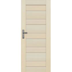 """Drzwi sosnowe, bezseczne - Marbella pelne - Seria Premium - Drzwi wewnetrzne drewniane """"RADEX"""""""