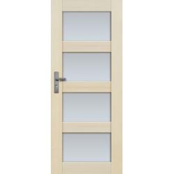 """Drzwi sosnowe, bezsęczne - Nefryt wersja 4S - Seria Premium - Drzwi wewnętrzne drewniane """"RADEX"""""""