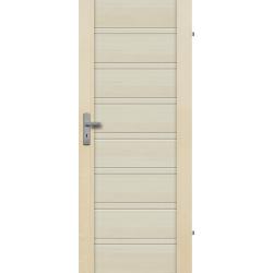 """Drzwi sosnowe, bezsęczne - Malaga pełne - Seria Premium - Drzwi wewnętrzne drewniane """"RADEX"""""""