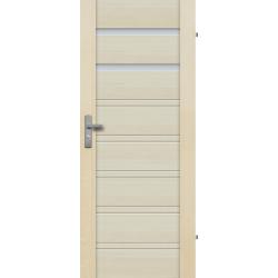 """Drzwi sosnowe, bezseczne - Malaga 2S - Seria Premium - Drzwi wewnetrzne drewniane """"RADEX"""