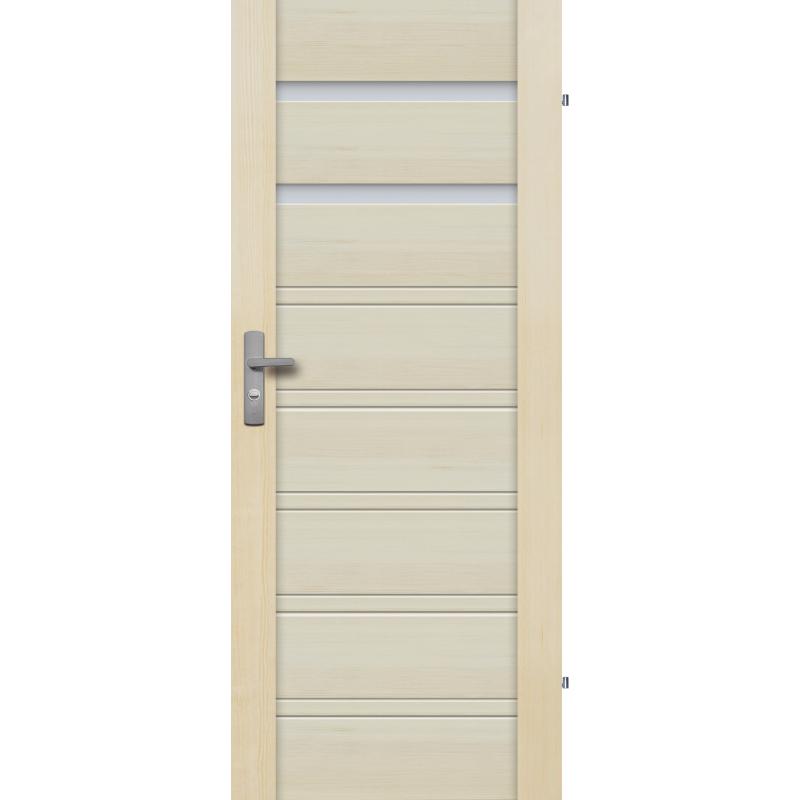 """Drzwi sosnowe, bezsęczne - Malaga 2S - Seria Premium - Drzwi wewnętrzne drewniane """"RADEX"""