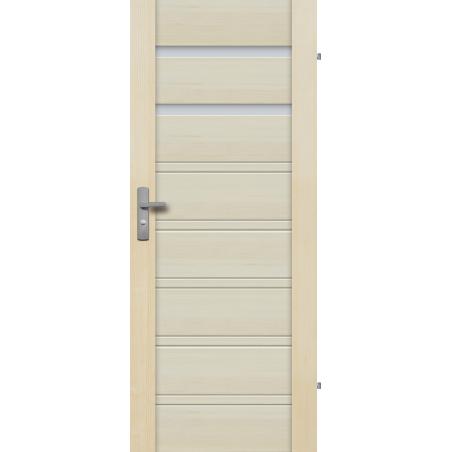 """Drzwi sosnowe, bezsęczne - Malaga 2S - Seria Premium - Drzwi wewnętrzne drewniane """"RADEX"""""""