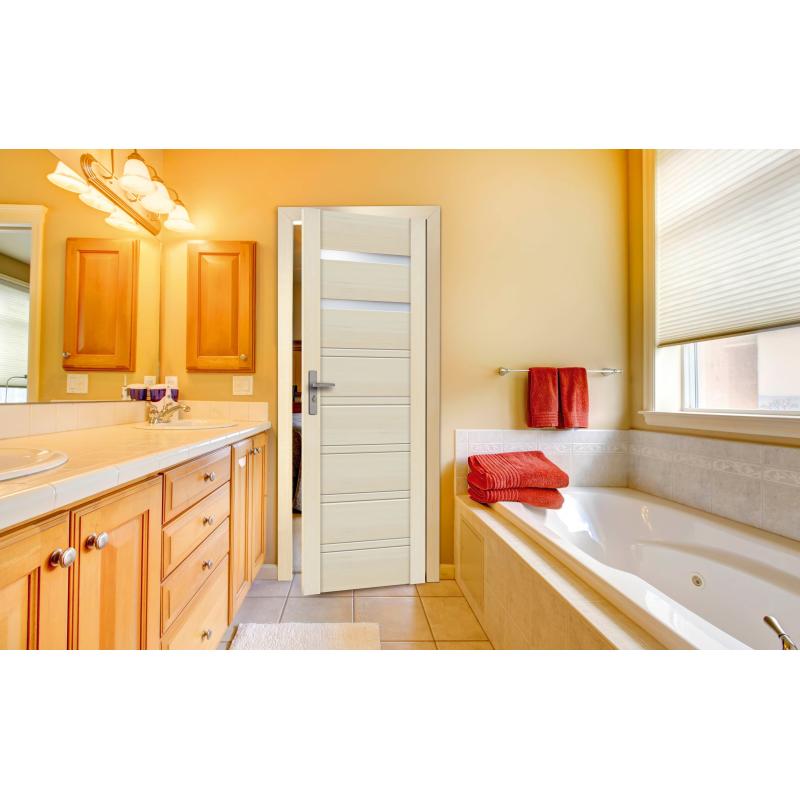 Drzwi sosnowe, bezsęczne - Malaga 2S - Seria Premium - Drzwi wewnętrzne drewniane