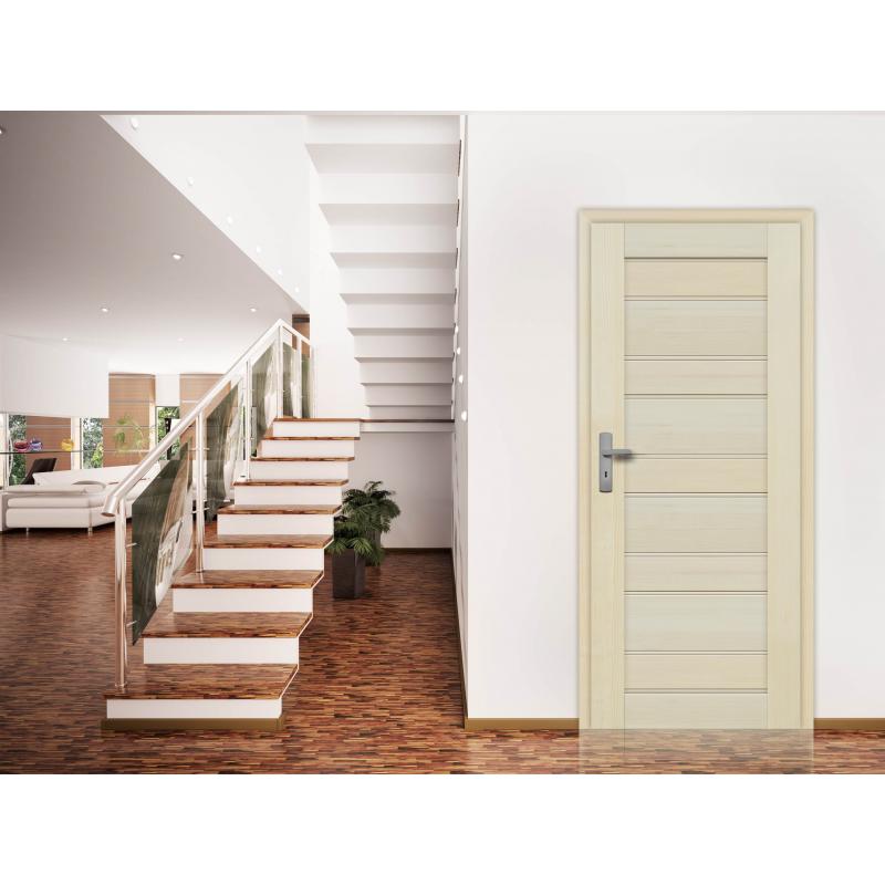 Drzwi sosnowe, bezsęczne - Marbella 10S - Seria Premium - Drzwi wewnętrzne