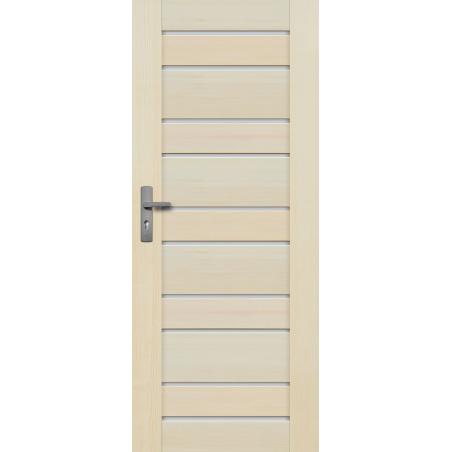 """Drzwi sosnowe, bezsęczne - Marbella 10S - Seria Premium - Drzwi wewnętrzne  """"RADEX"""""""