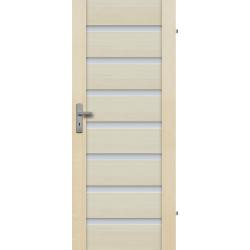 """Drzwi sosnowe, bezseczne - Malaga 7S - Seria Premium - Drzwi wewnetrzne drewniane """"RADEX"""