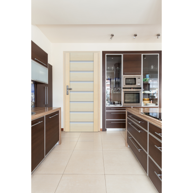 Drzwi sosnowe, bezsęczne - Malaga 7S - Seria Premium - Drzwi wewnętrzne drewniane